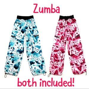 Zumba Wear Lot of 2 Pants Marvelous Dance Fitness